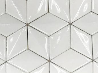 3D Diamond Crackled