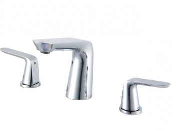 Blossom Two Handle Bathroom Chrome Faucet - F01107
